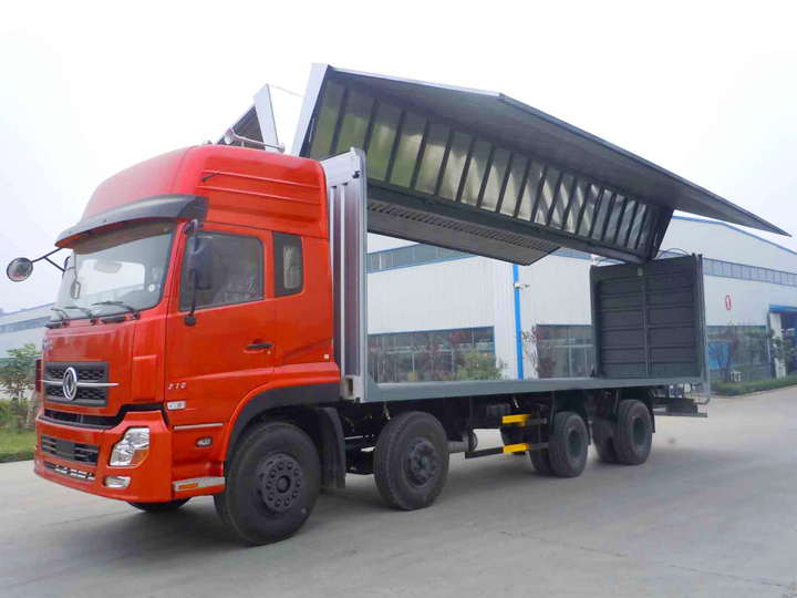 Wing Open Truck System